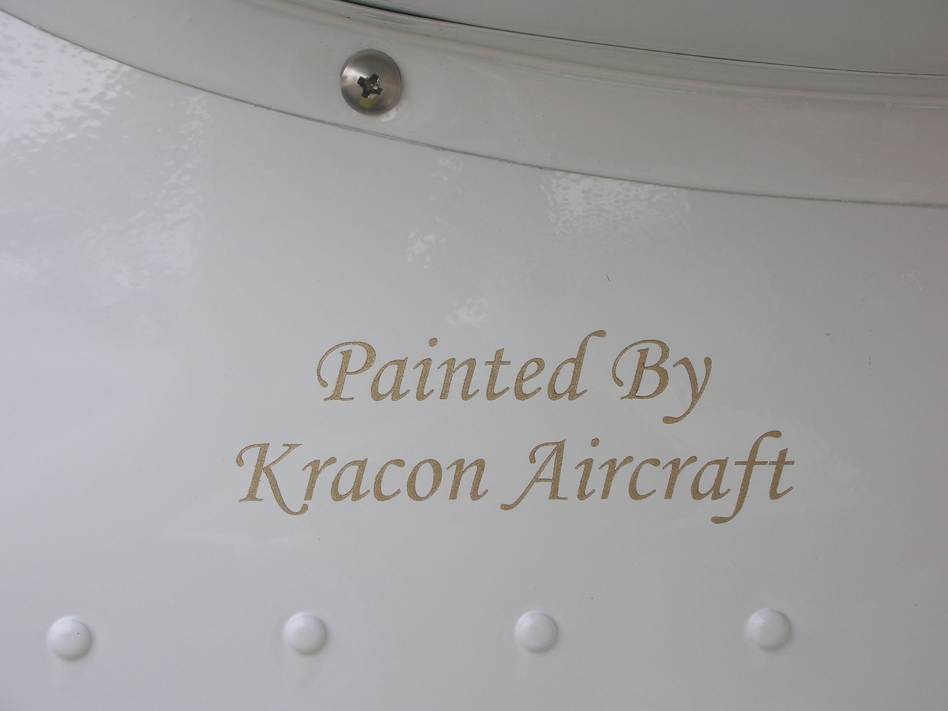 Painting Process/Products | Kracon Aircraft Inc