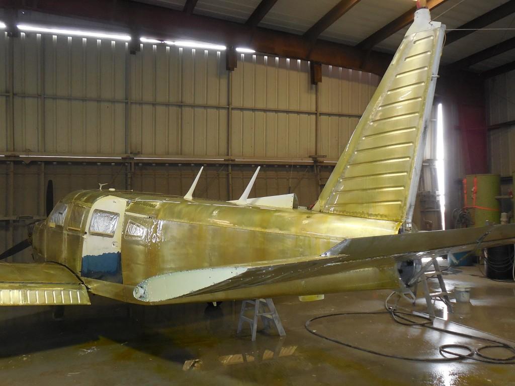 Steps to Refinishing a Plane | Kracon Aircraft Inc